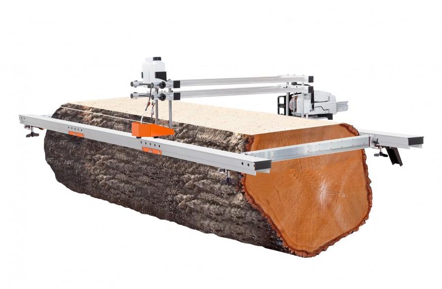Big Mill с ведущими балками из алюминия. Набор 56 инчей (142 см) пильная шина (цепь и шина включены)
