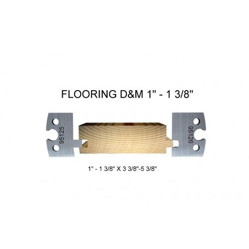 """Flooring D&M 1"""" - 1 3/8"""""""