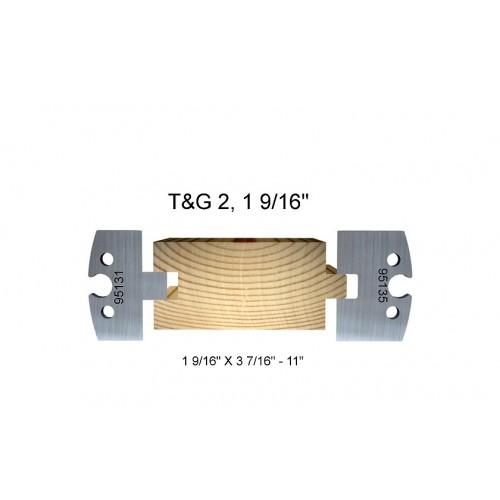 "T&G 2, 1 9/16"""