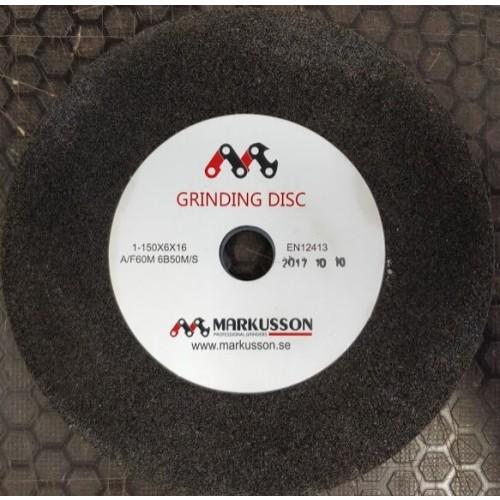 Образивный диск, камень, 150 х 16 х 6,0 мм, для автоматического станка заточки цепей