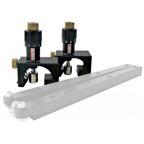 Магнитное устройство для настройки зазора прямых ножей в верхней фрезе, строгальн. станки