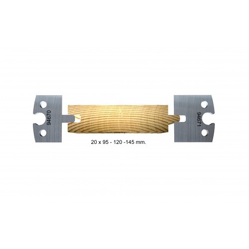 Tongue and groove 20 mm