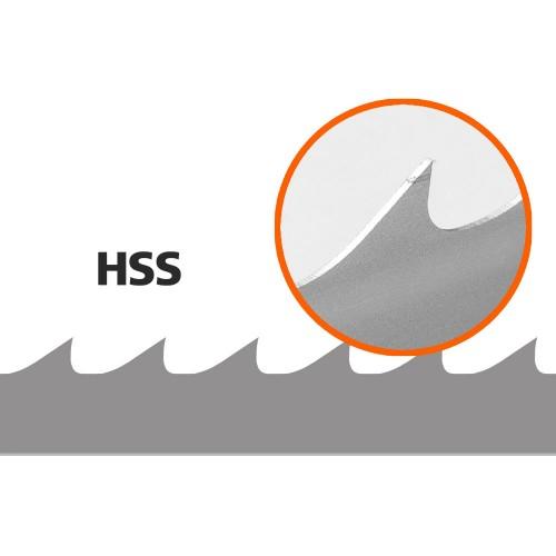 5 pilových pásů HSS pro Woodmizer D:4000mm, Š:34mm