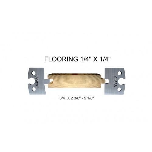 "Flooring 1/4"" x 1/4"""